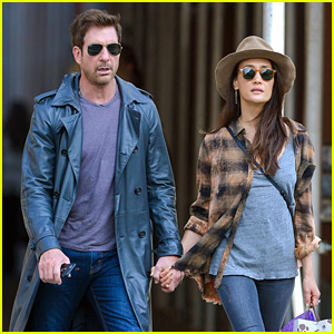 Dylan McDermott & Maggie Q Go for Monday Morning Stroll