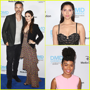 Eddie Cibrian & Rachel Bilson Promote 'Take Two' at Disney/ABC Upfronts!