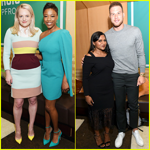 Elisabeth Moss, Mindy Kaling, Blake Griffin & More Buddy Up at Hulu Upfront 2018!