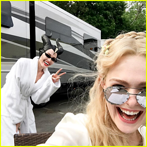 Elle Fanning & Angelina Jolie Start Filming 'Maleficent' Sequel - See the First Pics From the Set!
