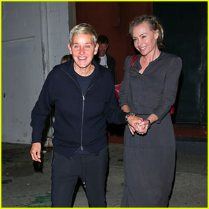 ellen degeneres portia de rossi hold hands while leaving ellen s