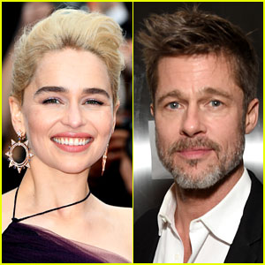 The Best Night of Emilia Clarke's Life Involves Brad Pitt!
