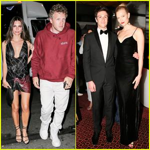 Emily Ratajkowski & Karlie Kloss Couple Up at Versace Met Gala 2018 After Party!