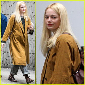 Emma Stone Has Some Interesting Props on 'Maniac' Set