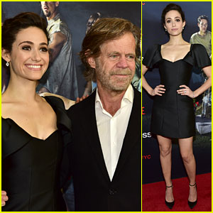 Shameless' Emmy Rossum & William H. Macy Kick Off Their Emmy Campaign!