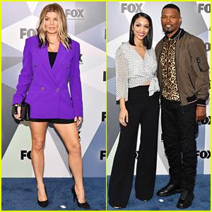 Fergie & Jamie Foxx Promote Their Shows at Fox Upfronts