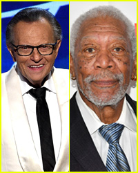 Larry King Speaks Out About Morgan Freeman Harassment Allegations
