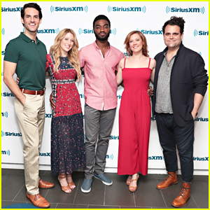 'Frozen' Broadway Cast Get Together To Promote Album at SiriusXM!