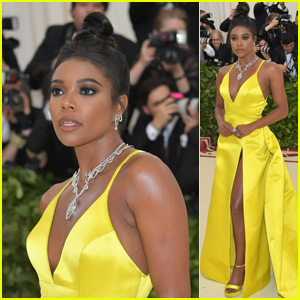 Gabrielle Union Glows on the Red Carpet at Met Gala 2018!