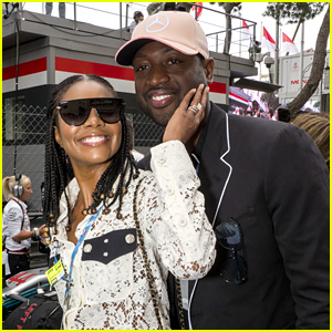 Gabrielle Union & Dwyane Wade Cozy Up at Monaco Grand Prix!