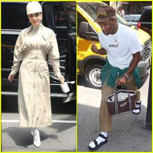 Lady Gaga & Tyler The Creator Hit the Recording Studio in NYC!