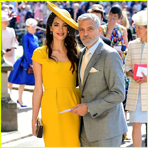 George & Amal Clooney Are Picture Perfect at Royal Wedding!