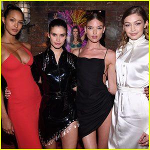 Gigi Hadid Joins Victoria's Secret Angels to Celebrate Russell James' New Book!