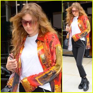 Gigi Hadid Heads Out for a Photo Shoot in New York City