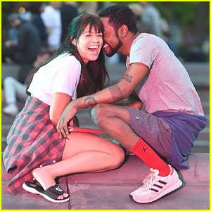 Gina Rodriguez & Lakeith Stanfield Have the Most Adorable Moment While Filming 'Someone Great'