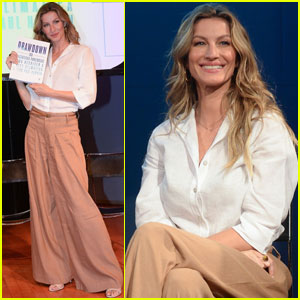Gisele Bundchen Advocates For Solutions to Climate Change!