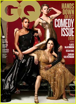 GQ's Annual Comedy Cover Features a Ton of (Intentional) Photo Shop Fails!