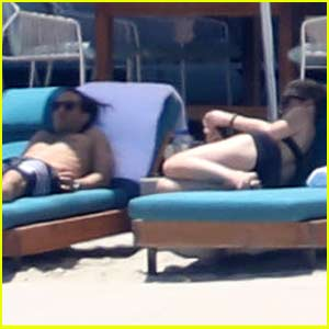 Gwyneth Paltrow & Brad Falchuk Sun Themselves on the Beach in Mexico