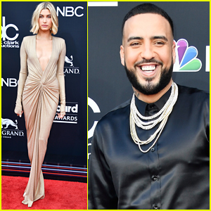 Hailey Baldwin Joins French Montana at BBMAs 2018!