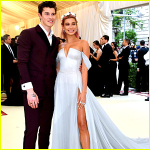 Shawn Mendes & Hailey Baldwin Make Couple Debut at Met Gala 2018!