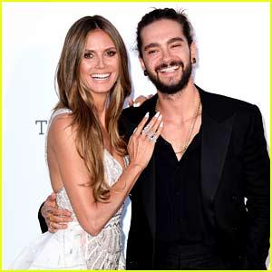 Heidi Klum & Tom Kaulitz Make Red Carpet Debut at Cannes amfAR Gala 2018!