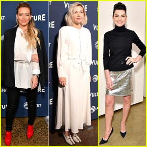 Hilary Duff, Maggie Gyllenhaal, & Julianna Margulies Stop By Vulture Festival