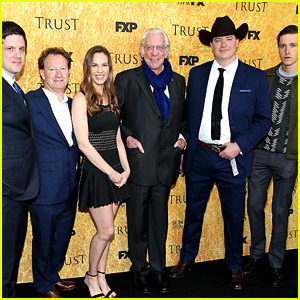 Hilary Swank & 'Trust' Cast Kick Off Their Emmy Campaigning!