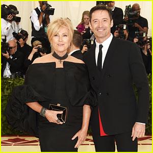 Hugh Jackman & Wife Deborra-Lee Furness Couple Up for Met Gala 2018