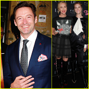 Hugh Jackman Joins Charlize Theron at 'Tully' Premiere in NYC!