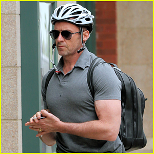 Hugh Jackman Shows Off His Buff Biceps in NYC!