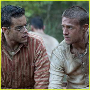 Charlie Hunnam & Rami Malek Team Up in 'Papillon' Trailer - Watch Now!
