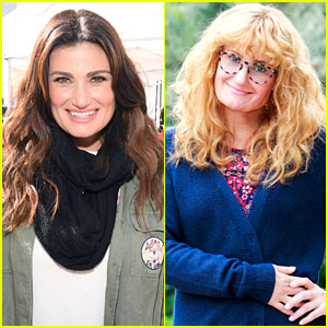 Idina Menzel Gets Into a Disguise for 'Undercover Boss' (Photos)