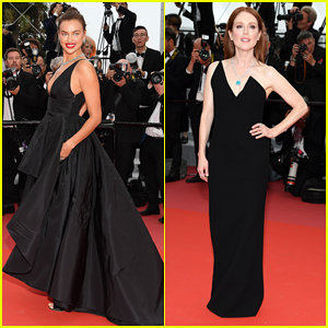 Irina Shayk & Julianne Moore Stun at 'Yomeddine' Cannes Film Festival Premiere!
