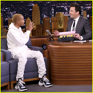 Jaden Smith Freestyles & Performs 'Icon' on 'Fallon' - Watch Now!