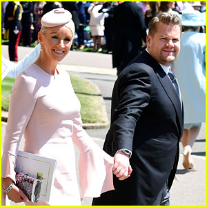 James Corden Attends The Royal Wedding With Wife Julia Carey