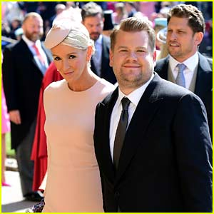 James Corden Almost Interrupted the Royal Wedding at the Worst Moment!