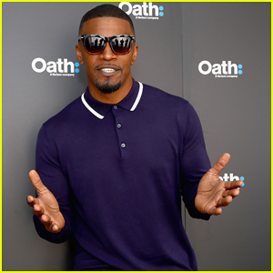 Jamie Foxx Hits NYC To Host Oath's Digital Content NewFront!