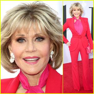 Jane Fonda & Co-Stars Hit the Red Carpet at 'Book Club' Premiere in LA!