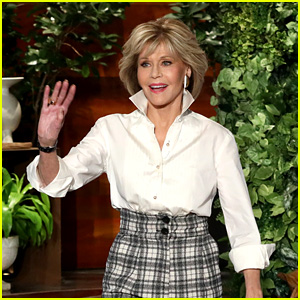 Jane Fonda Talks About Turning 80 on 'Ellen' - Watch Now!