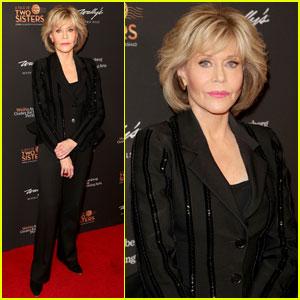 Jane Fonda Helps Honor Debbie Allen & Phylicia Rashad!