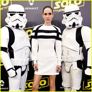 Jennifer Connelly Dresses as a Sexy Stormtrooper for 'Solo' Cannes Premiere!