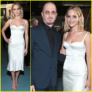 Jennifer Lawrence Helps Honor Ex Darren Aronofsky at BAM Gala 2018!