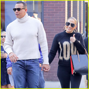 Jennifer Lopez & Alex Rodriguez Show Their Love During Afternoon Date!