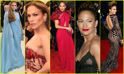 Jennifer Lopez Always Brings Glamour to the Met Gala!