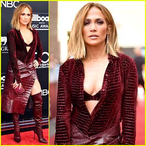 Jennifer Lopez Looks So Hot on BBMAs 2018 Red Carpet!