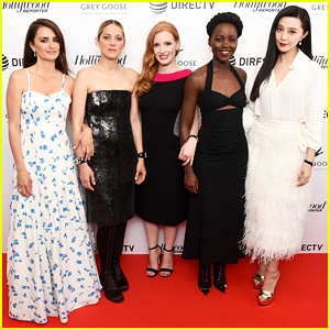 Jessica Chastain Brings First Look of Spy Thriller '355' to Cannes with Lupita Nyong'o, Penelope Cruz & More!
