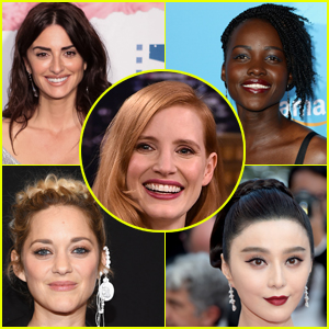 Jessica Chastain to Star in Female Driven Spy Thriller with Lupita Nyong'o, Penelope Cruz & More!