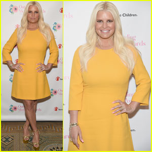 Jessica Simpson Steps Out at Outstanding Mothers Awards!