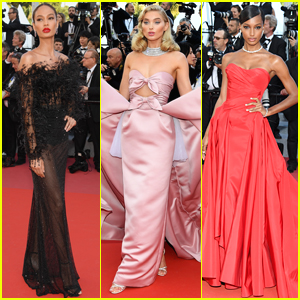 Joan Smalls, Elsa Hosk, & Jasmine Tookes Turn Heads at 'Girls Of The Sun' Premiere in Cannes!