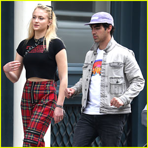 Joe Jonas & Fiancee Sophie Turner Step Out in Style in NYC